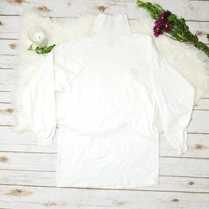 The North Face White Turtleneck Shirt